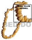Cebu Island Nassa Yellow Shell Side Cebu Shell Beads Philippines Natural Handmade Products