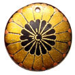 Maki-e art Embossed Hand Painted Pendants Jewelry japanese