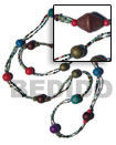 Long Bohemian Necklace Coco And