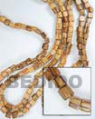Cebu Island Robles Barrel Wood 6x6mm Wood Beads Philippines Natural Handmade Products