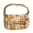 Cebu Island Natural Coco Rings Lining Bags Philippines Natural Handmade Products