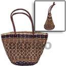 Cebu Island Pandan Buyanos Bag Medium Bags Philippines Natural Handmade Products