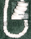 White Puka Shell Beads