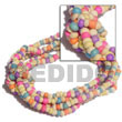 Cebu Island 2-3mm Coco Pokalet Candy Coco Bracelets Philippines Natural Handmade Products