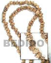Cebu Island Robles Triangle 13x14x5mm In Wood Beads Philippines Natural Handmade Products