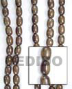 Cebu Island Oval Camagong 10x15mm In Wood Beads Philippines Natural Handmade Products