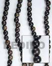 Cebu Island Camagong Beads 6mm In Wood Beads Philippines Natural Handmade Products